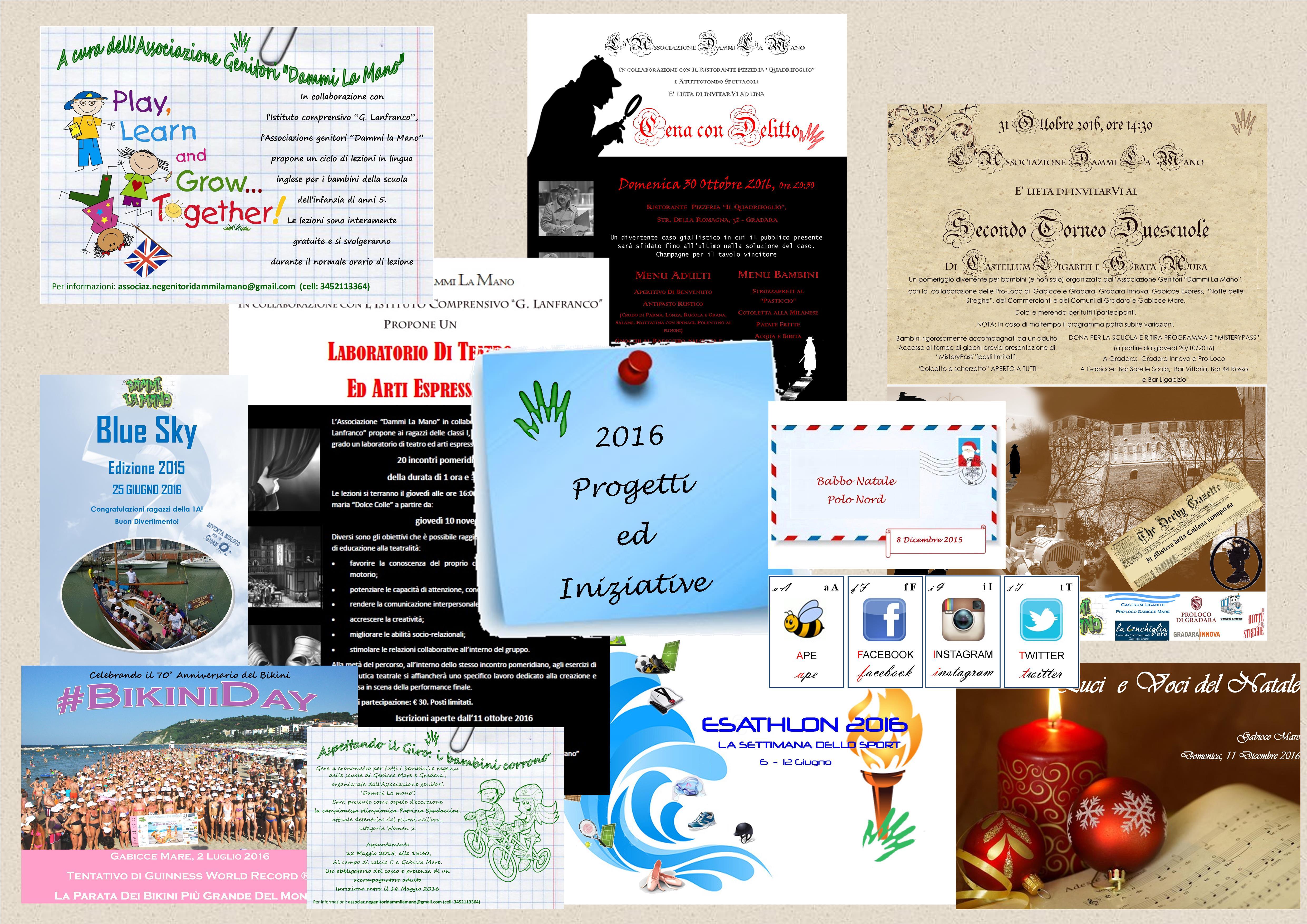 PROGETTI e INIZIATIVE 2016-2017